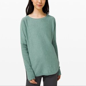 "Lululemon ""Take it all in"" Sweater"